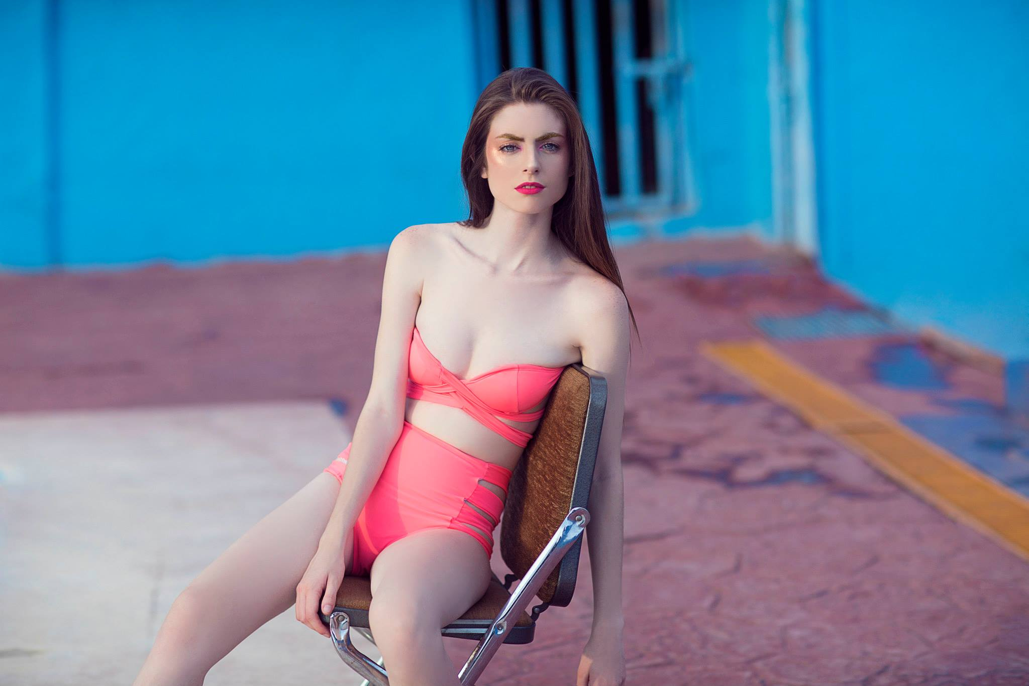 Lucía González, Model of August