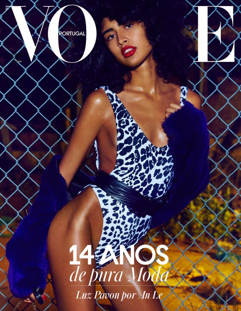 Luz Pavon in the cover of Vogue Portugal - November 2016
