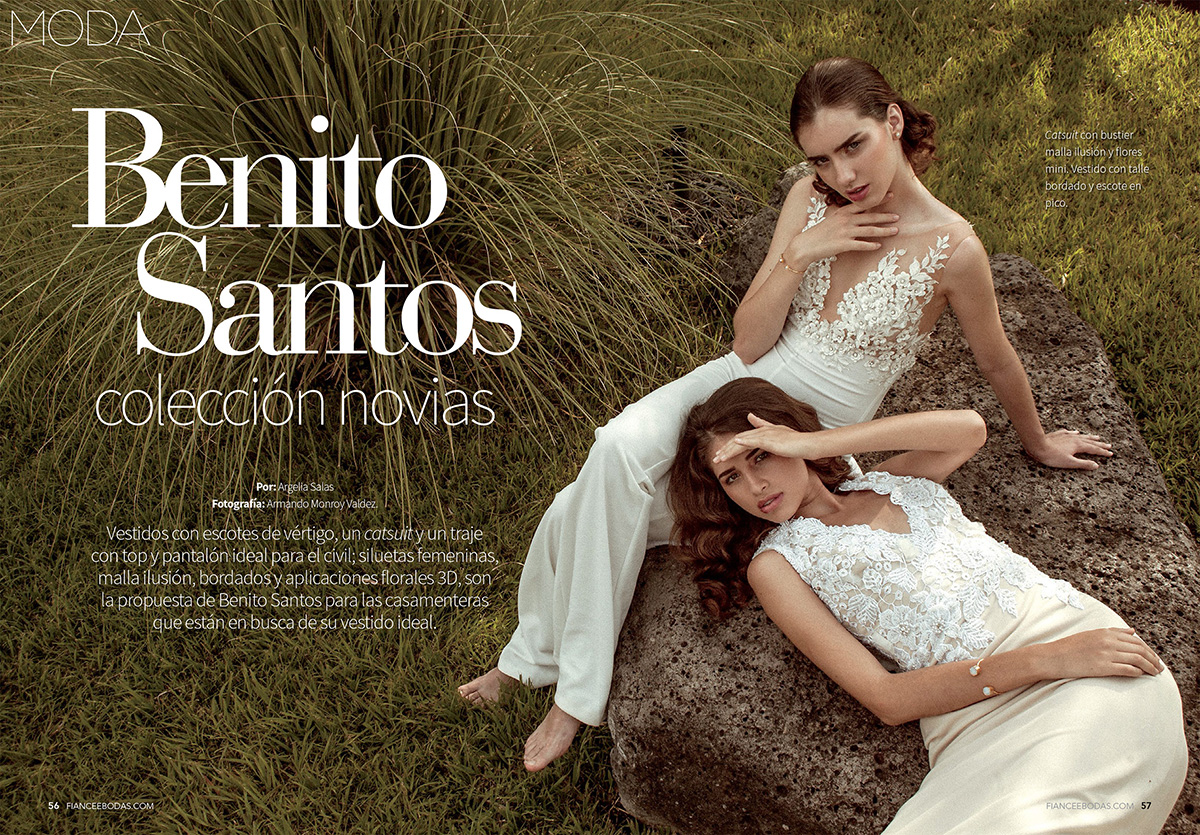 Karla Sofia and Silvia Rodriguez for Fiancee November 2016