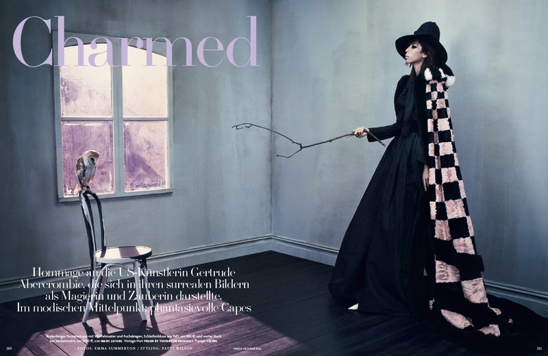 Issa Lish for Vogue Germany October 2016