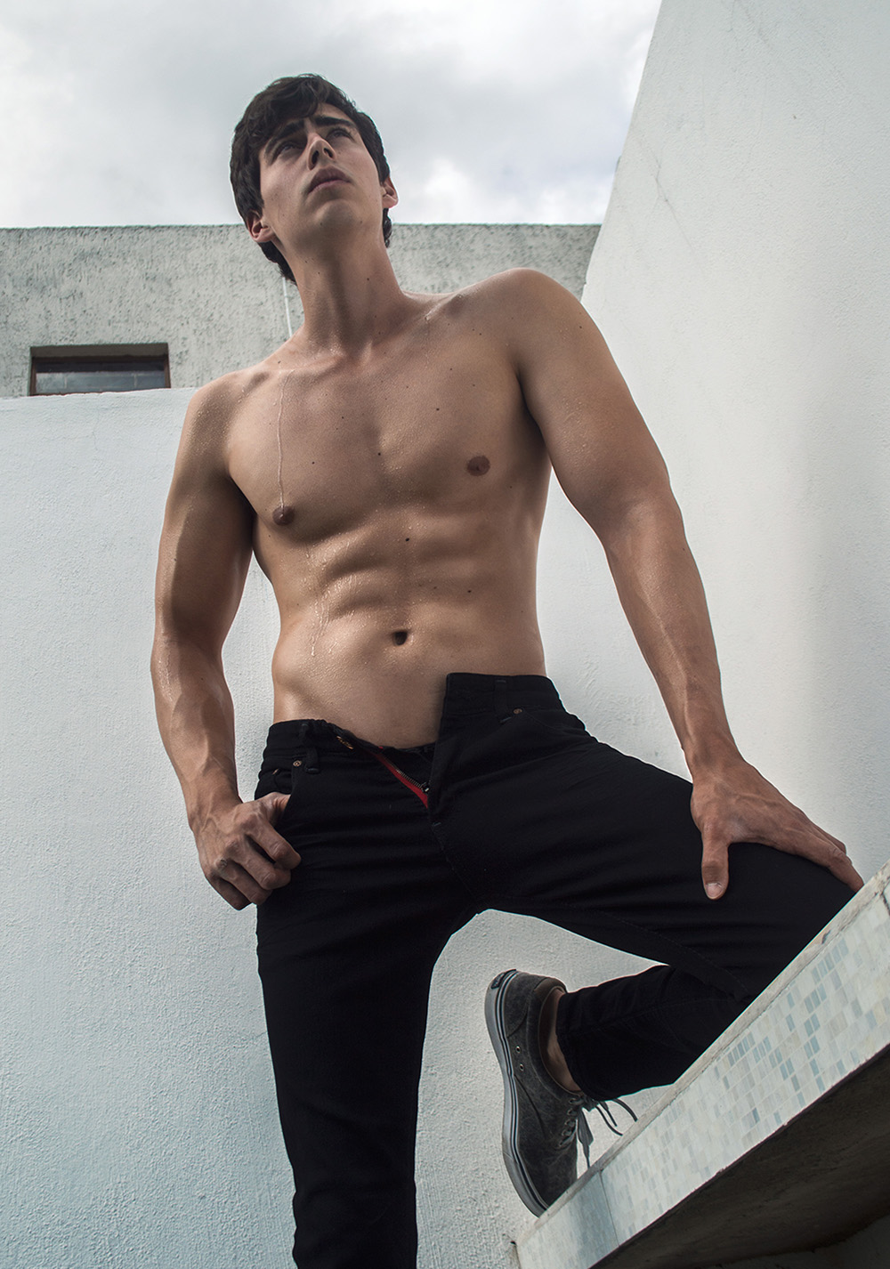 Ivan Malacon photographed by Osvaldo Padilla