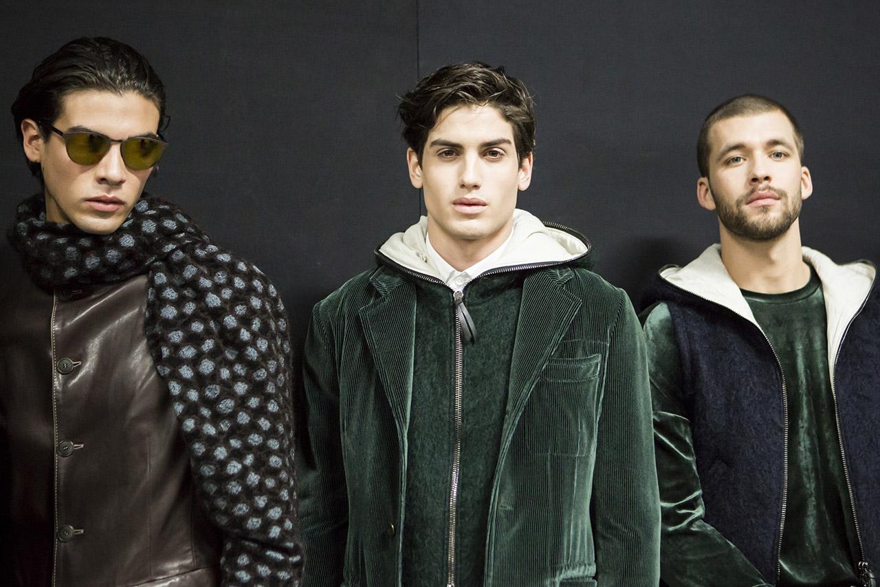 Luis Zermeño for Giorgio Armani Fall 2017