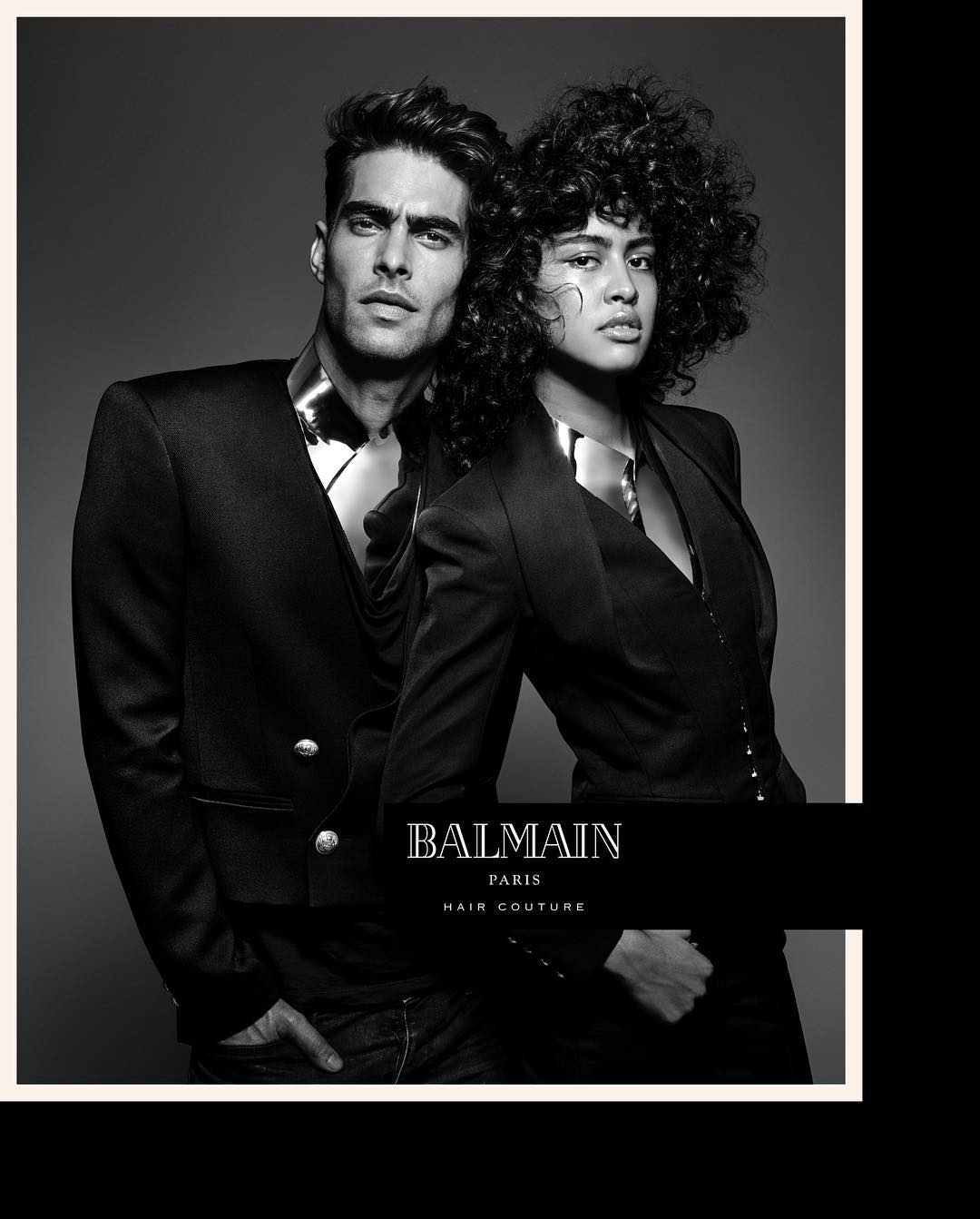 Luz Pavon for Balmain Hair Couture Spring 2017 campaign