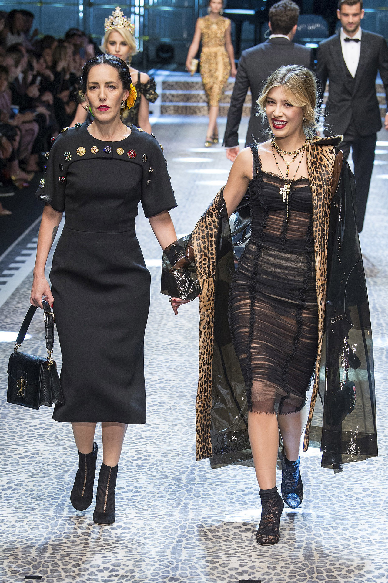 Michelle Salas for Dolce & Gabbana Fall 2017