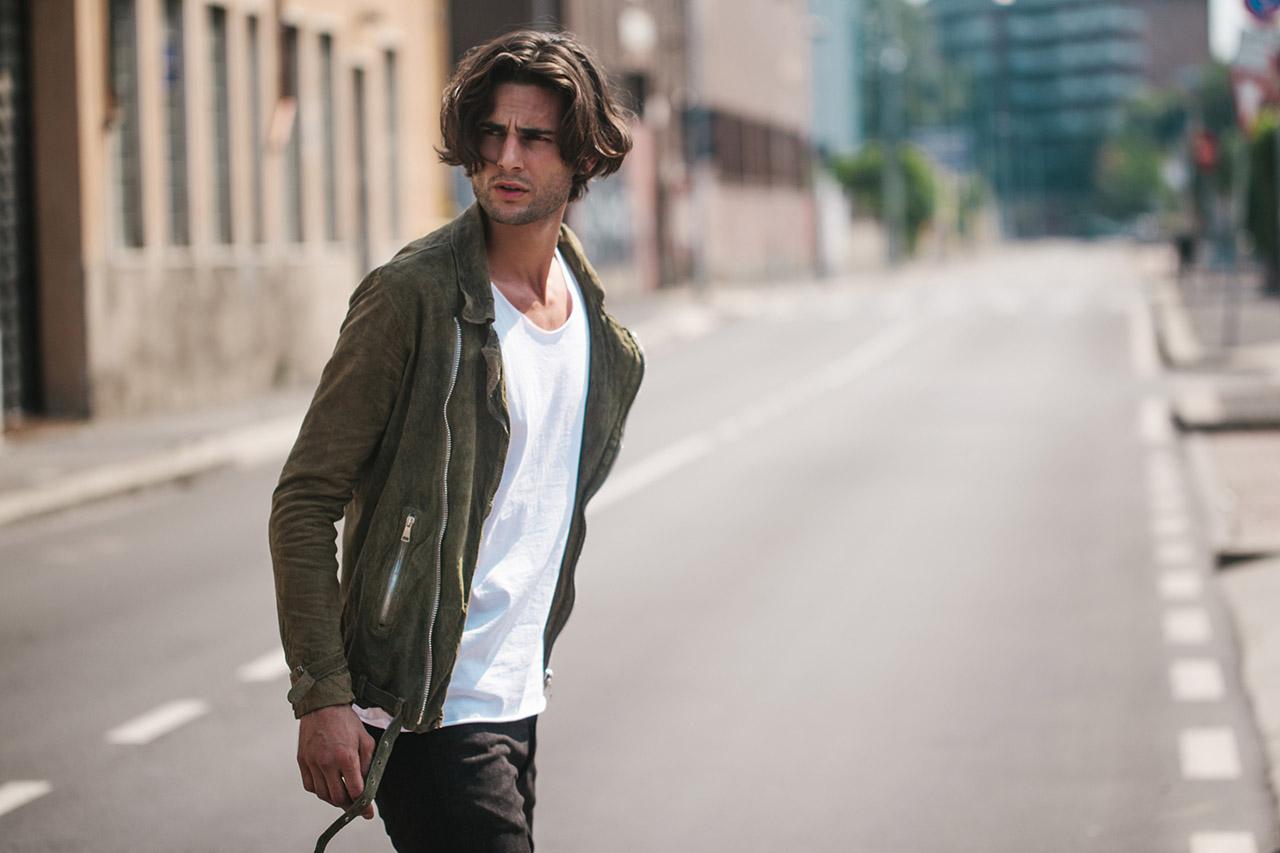 Jonathan Valdez for Giorgio Brato Spring 2017