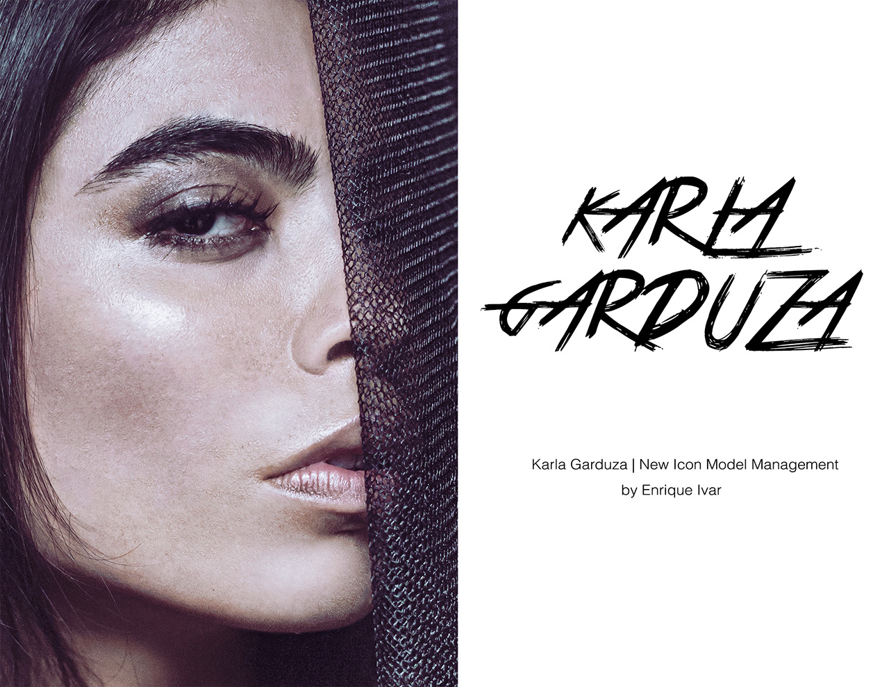Karla Garduza photographed by Enrique Ivar
