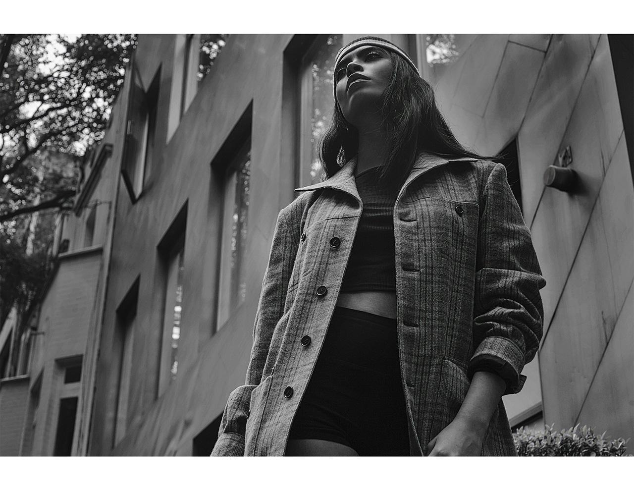 Karla Garduza photographed by Enrique Ivar