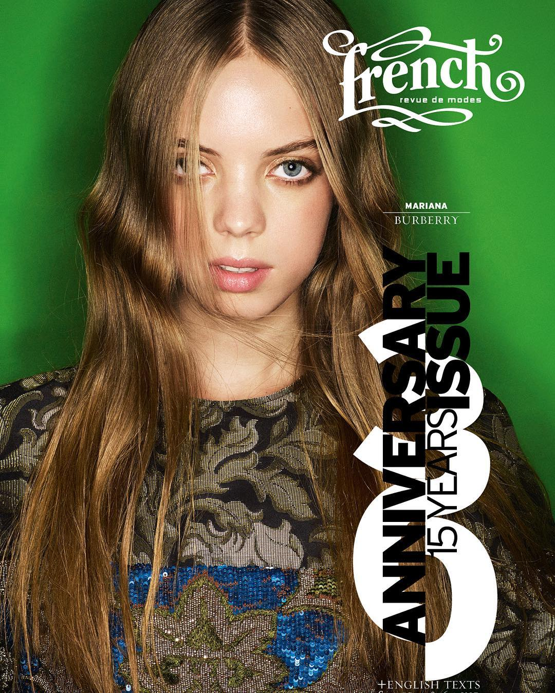 Mariana Zaragoza covers French Revue de Modes No. 30
