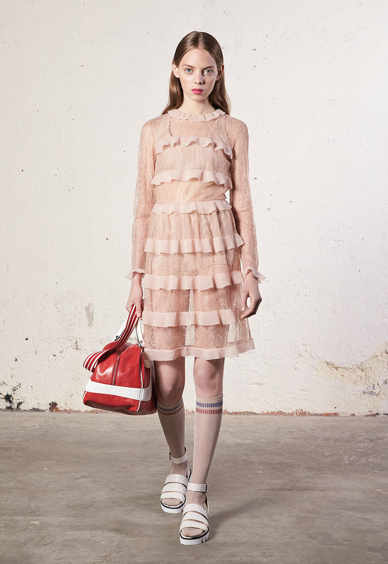 Mariana Zaragoza for Red Valentino Resort 2018