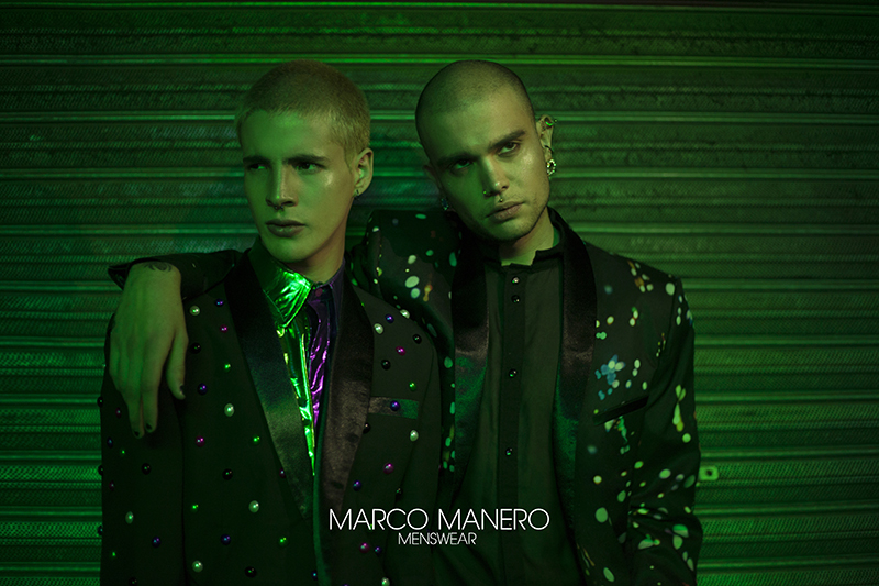 Diego Márquez and César Sigfrido for Marco Manero Spring 2017