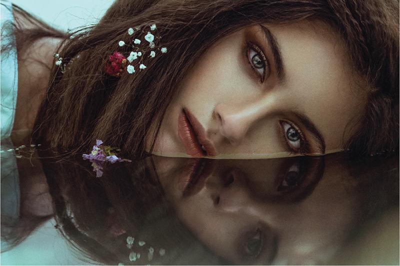 Paulina Moreno for Dark Beauty Magazine