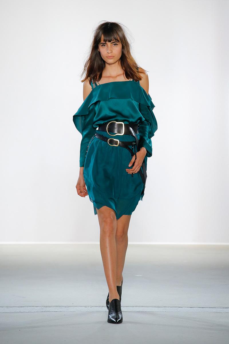 Zaira Gonzalez for Dorothee Schumacher Spring 2018