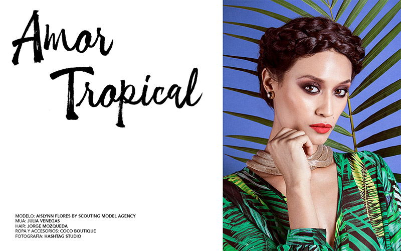 Aislynn Flores in Amor Tropical