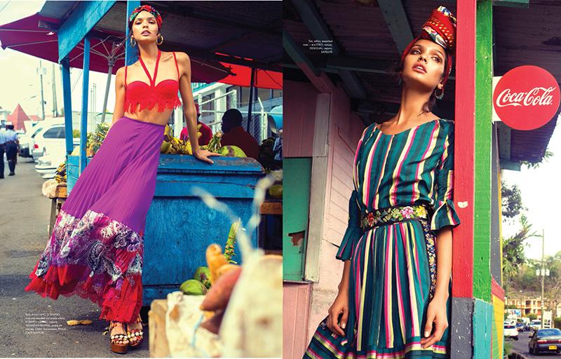 Livia Rangel for Elle Kazakhstan August 2017