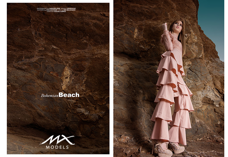 Sharon Qui in Bohemian Beach for MX Models