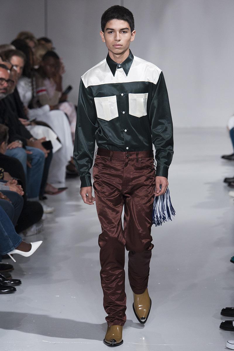 Ernesto Cervantes for Calvin Klein Spring 2018
