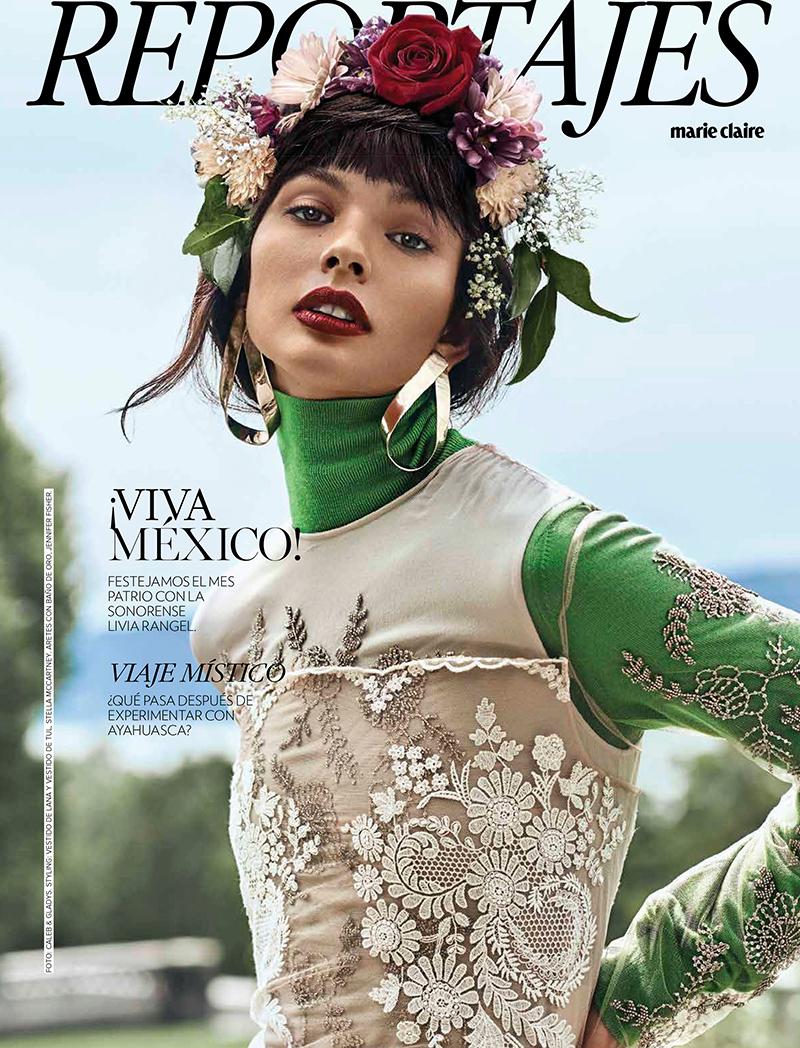 Livia Rangel for Marie Claire Mexico September 2017