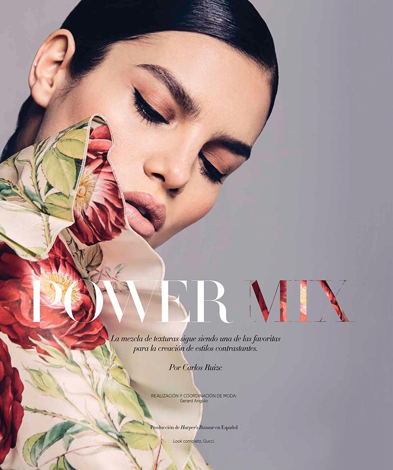 Nohemi Hermosillo for Harper's Bazaar Mexico September 2017
