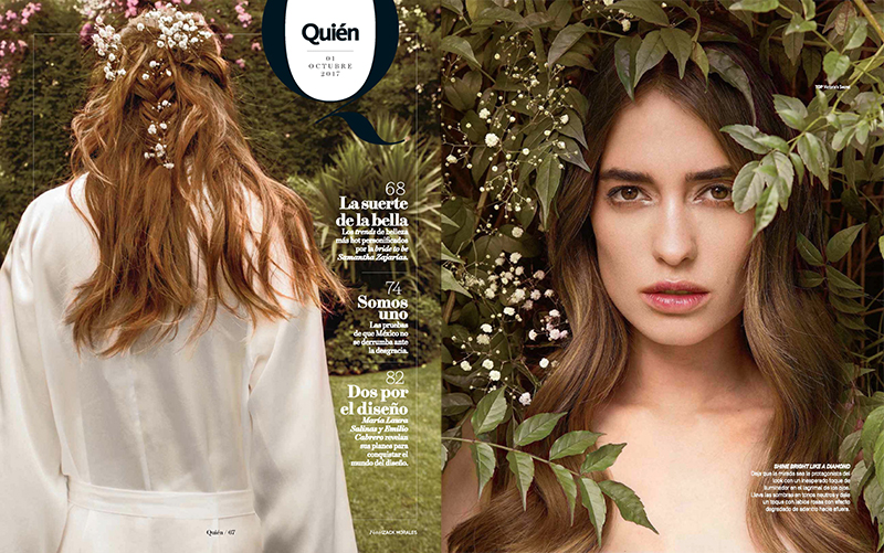 Samantha Zajarias for Quien September 28, 2017