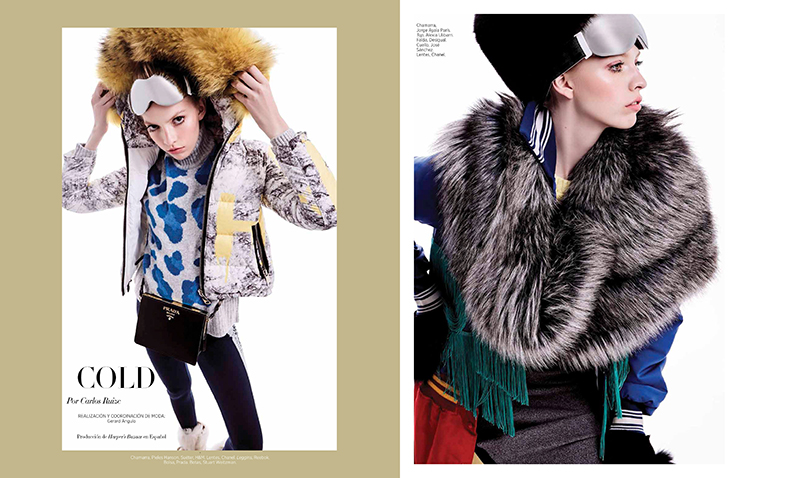 Alejandra Velasco for Harper's Bazaar en Español December 2017