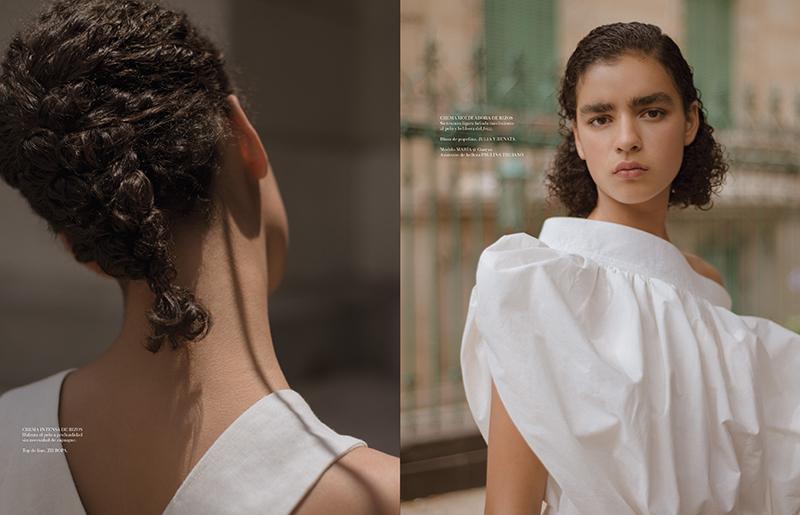 Maria Gonzalez for L'Officiel Mexico June 2017