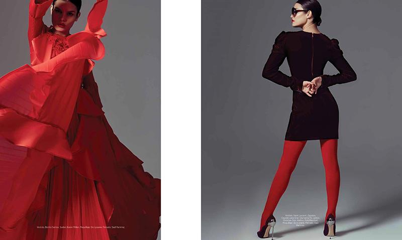Nohemi Hermosillo for Harper's Bazaar Mexico November 2017