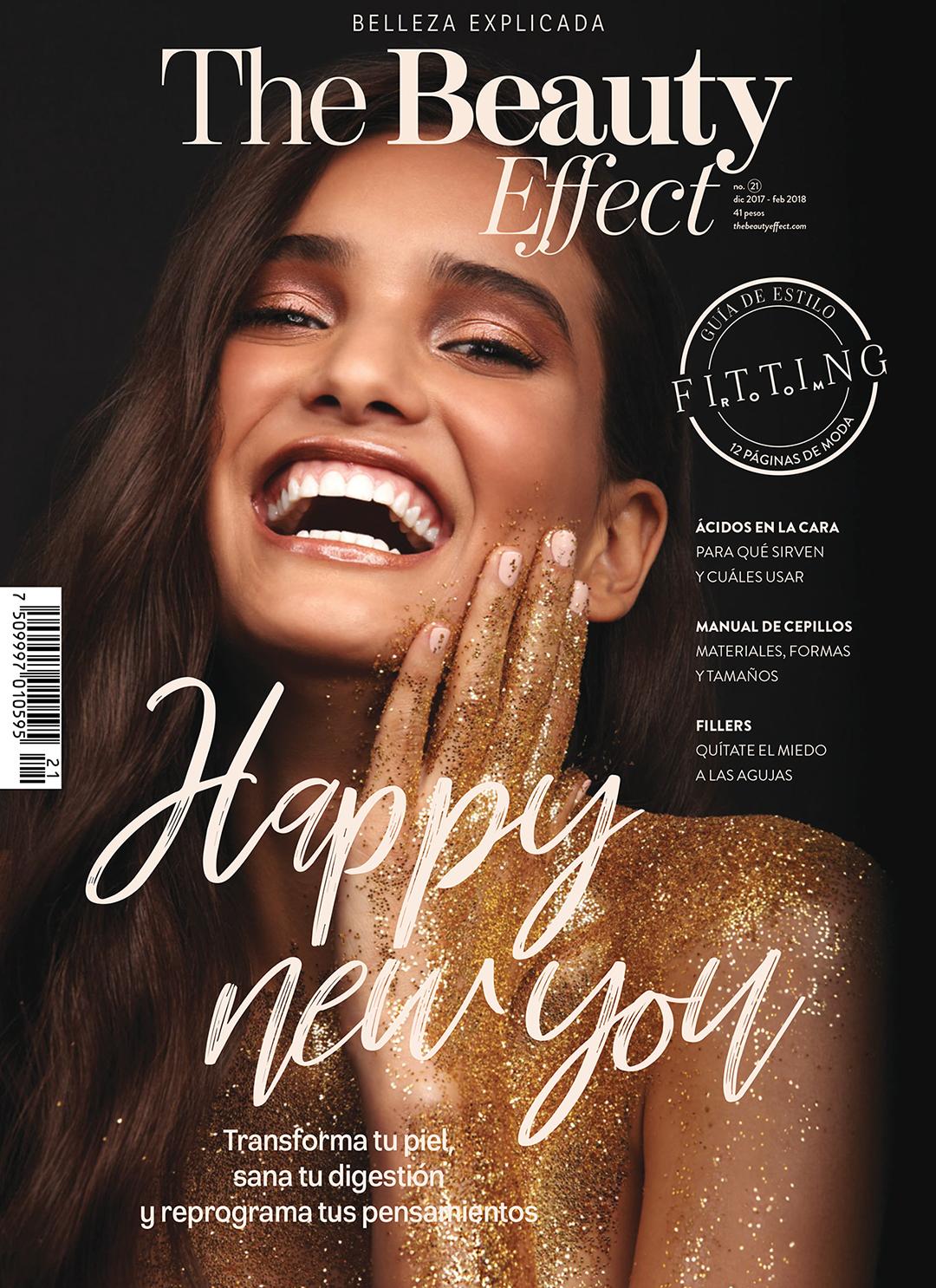 Ana Paula Bernal covers The Beauty Effect
