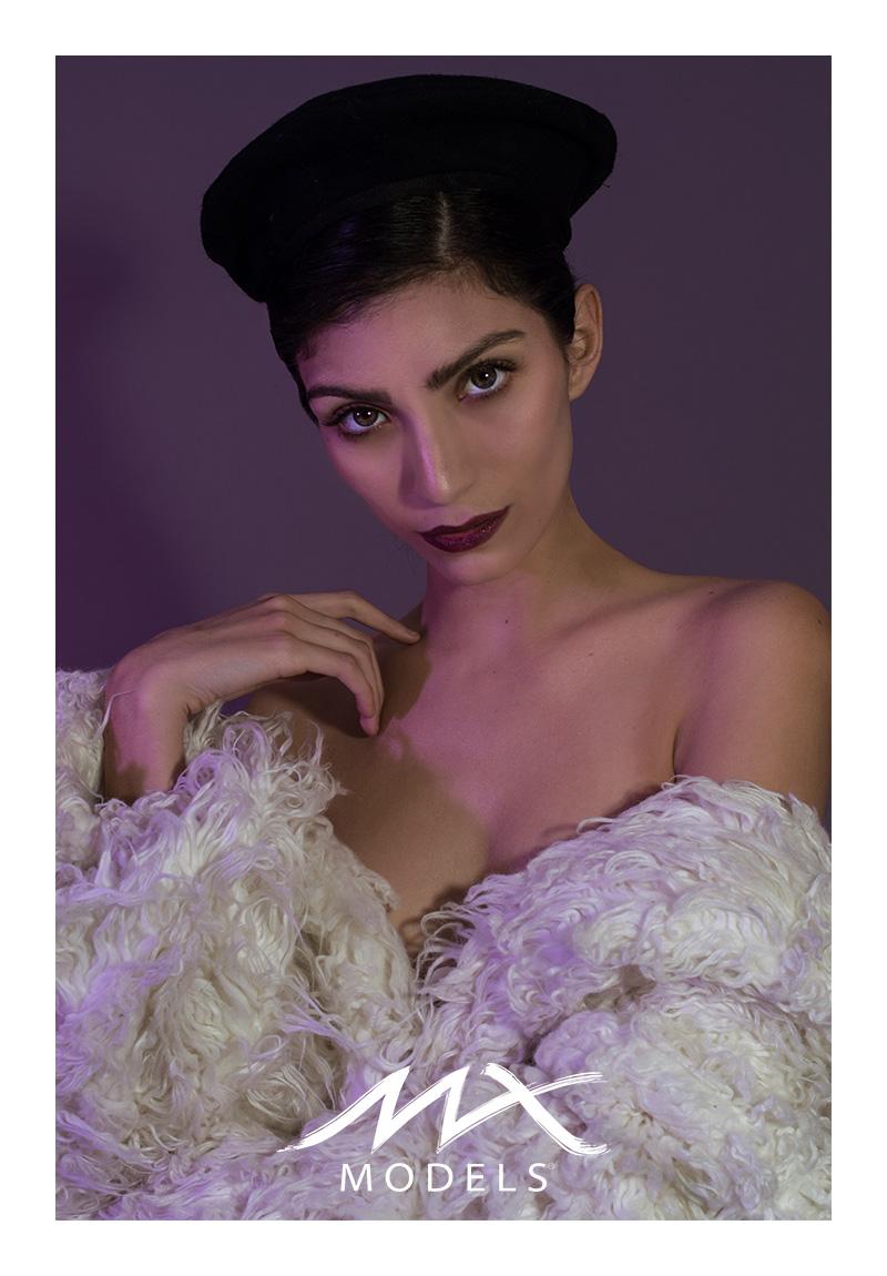 Daniela Goomar en On Winter We Wear Faux Fur