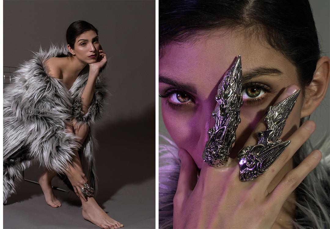 Daniela Gommar en On Winter We Wear Faux Fur
